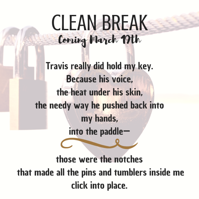 clean break_lock and key promo