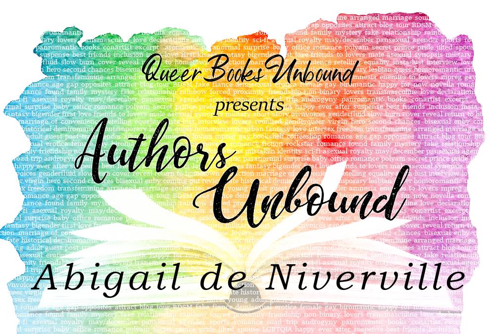 Authors Unbound_Abigail de Niverville